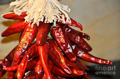 Photograph - Chili Peppers by Cheryl McClure