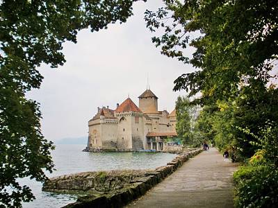 Chillon Castle Original by Marilyn Dunlap