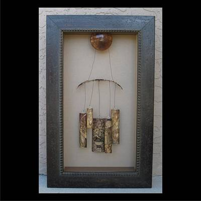 Mixed Media - Chimes by Brenda Berdnik