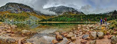 Chimney Pond Original by Aaron Priest