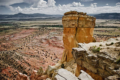 Photograph - Chimney Rock And Pedernal by Amadeus Leitner