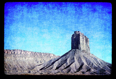 Photograph - Chimney Rock Ute Tribal Park by John Brink