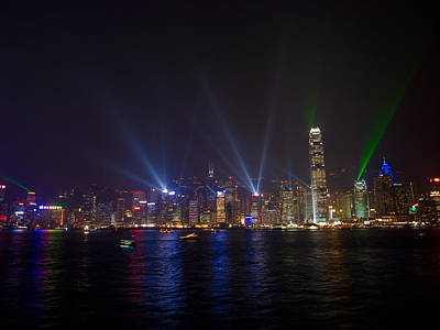 China-hong Kong Art Print by Mark Simons Photography