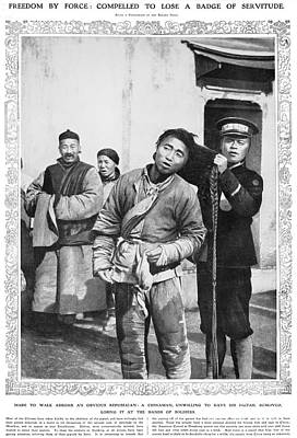 Photograph - China: Revolution, 1912 by Granger