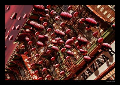 Photograph - China Town Celebration by Blake Richards