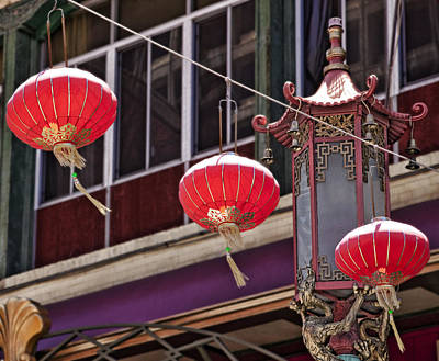 China Town San Francisco Art Print
