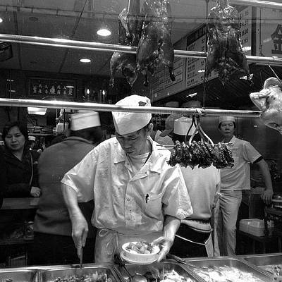 Restaurant Wall Art - Photograph - Chinatown - New York by Joel Lopez