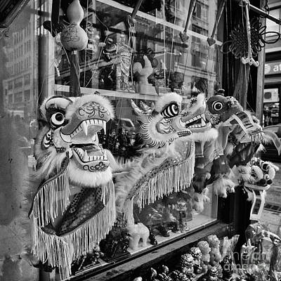 Chinese Dragon Photograph - Chinatown Dragons Nyc by John Farnan