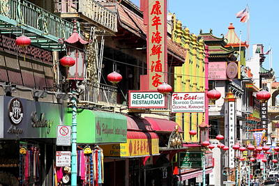 Photograph - Chinatown In San Francisco by Wingsdomain Art and Photography