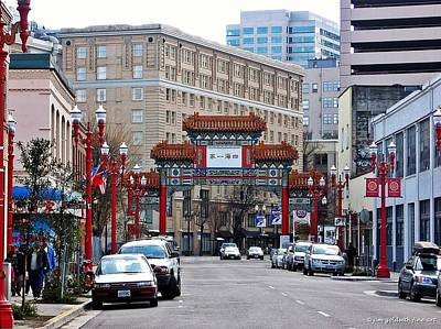 Photograph - Chinatown Portland by Jim Goldseth