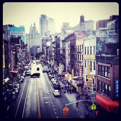 Manhattan Wall Art - Photograph - Chinatown by Randy Lemoine