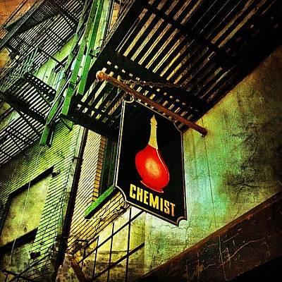 Manhattan Wall Art - Photograph - Chinatown Speakeasy. #nyc #manhattan by Luke Kingma
