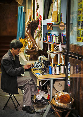Photograph - Chinatown Tailor by Anthony Citro