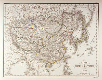 Chinese And Japanese Empires Art Print by Fototeca Storica Nazionale