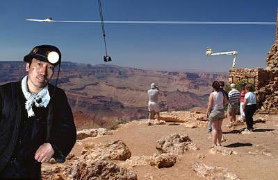 Chinese Buy Grand Canyon-1 Art Print by Larry Mulvehill