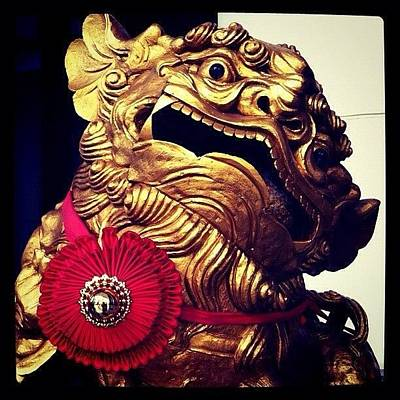 Dragon Photograph - Chinese #dragon In A Temple In by Richard Randall