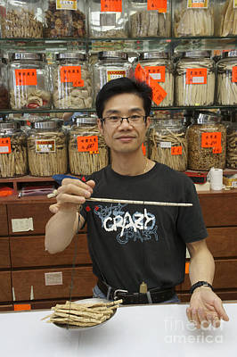 Photograph - Chinese Herbalist Vancouver Chinatown by John  Mitchell