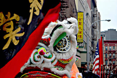 Chinese New Years Nyc  4704 Art Print