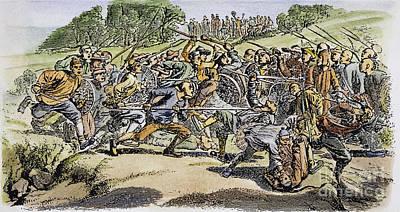 Chinese Tong War, 1854 Art Print