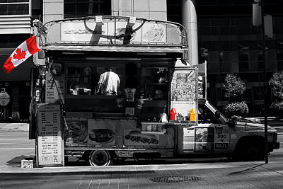 Toronto Maple Leafs Photograph - Chip Wagon by Andrew Fare