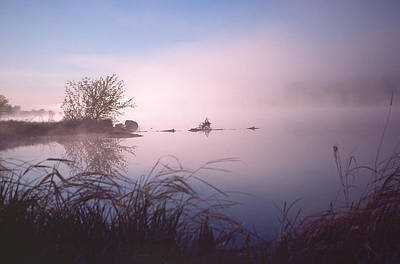 Photograph - Chippewa River At Dawn by Bernard Lynch