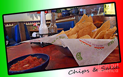 Photograph - Chips And Salsa by Methune Hively
