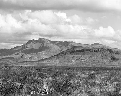 Photograph - Chisos Mountain View by David Chalker