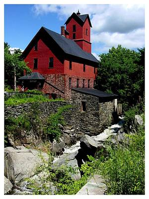 Chittenden Mill  Art Print by Frank Wickham