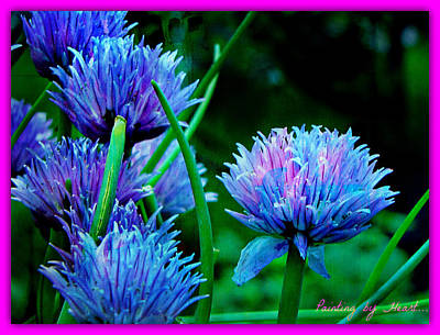 Chives For You Art Print