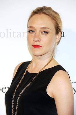 Chloe Sevigny At Arrivals Art Print