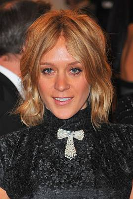 Alexander Mcqueen Savage Beauty Opening Night Gala - Part 2 Photograph - Chloe Sevigny At Arrivals For Alexander by Everett