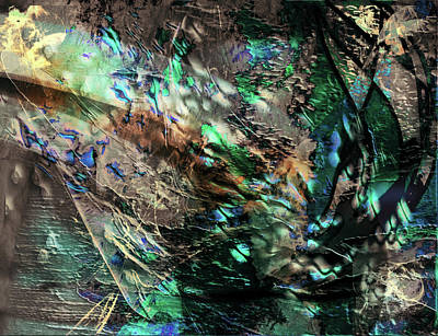 Digital Art - Chlorophyll by Monroe Snook