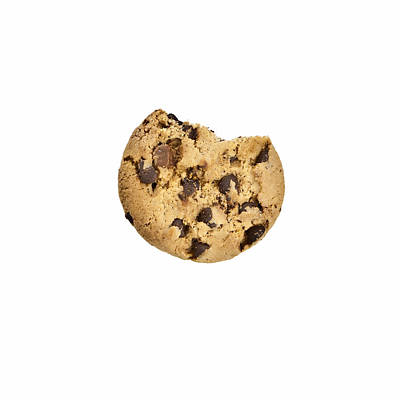 Bite Photograph - Chocolate Chip Cookie by Joana Kruse
