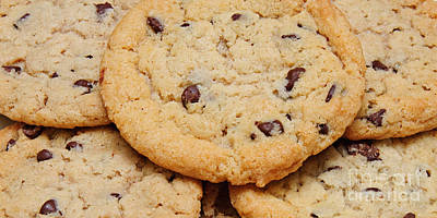 Photograph - Chocolate Chip Cookies Pano by Andee Design