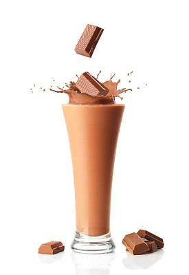 Chocolate Milkshake Smoothie Art Print
