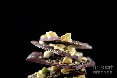 Photograph - Chocolate With Pistacios by Kati Finell