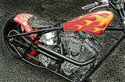 Chopper Art Print by Mauro Celotti