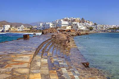 Aegean Photograph - Chora Naxos by Joana Kruse