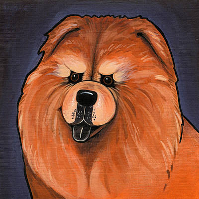Painting - Chow Chow by Leanne Wilkes