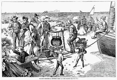 Chowder Party, 1873 Art Print by Granger