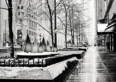 Photograph - Chrismtas On The Mag Mile by Laura Kinker