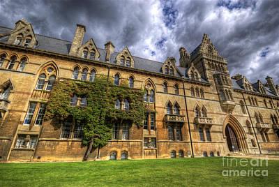 Photograph - Christ Church College - Oxford by Yhun Suarez
