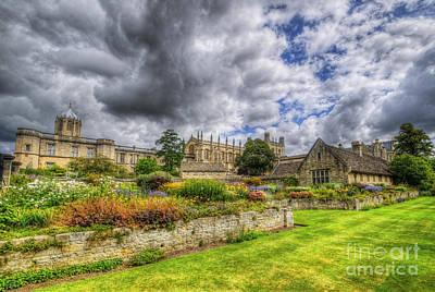 Photograph - Christ Church College Garden by Yhun Suarez
