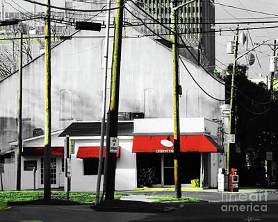 Christina Digital Art - Christina's Baton Rouge by Lizi Beard-Ward