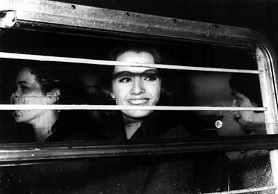 Police Van Photograph - Christine Keeler, With Paula by Everett