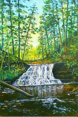 Painting - Christine's Falls by Lou Ann Bagnall