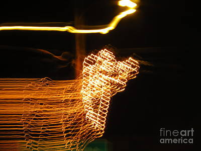 Motion Photograph - Christmas Angel by Rrrose Pix