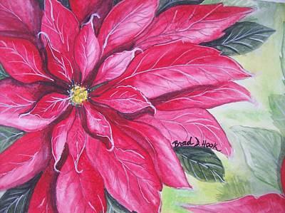 Christmas Cheer Art Print by Brad Hook