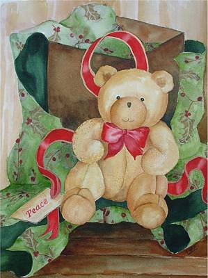 Painting - Christmas Comfort by Pamela Lee