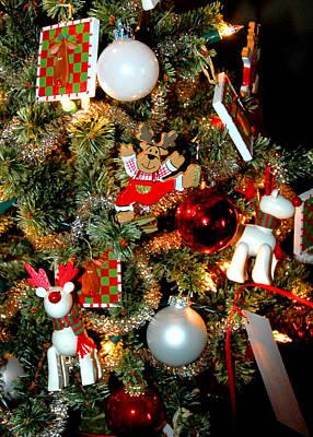 Beautiful Photograph - Christmas Deers by LeeAnn McLaneGoetz McLaneGoetzStudioLLCcom